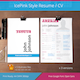 IcePink Style Resume CV - GraphicRiver Item for Sale