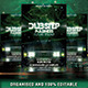 Dubstep Madness Party Flyer - GraphicRiver Item for Sale