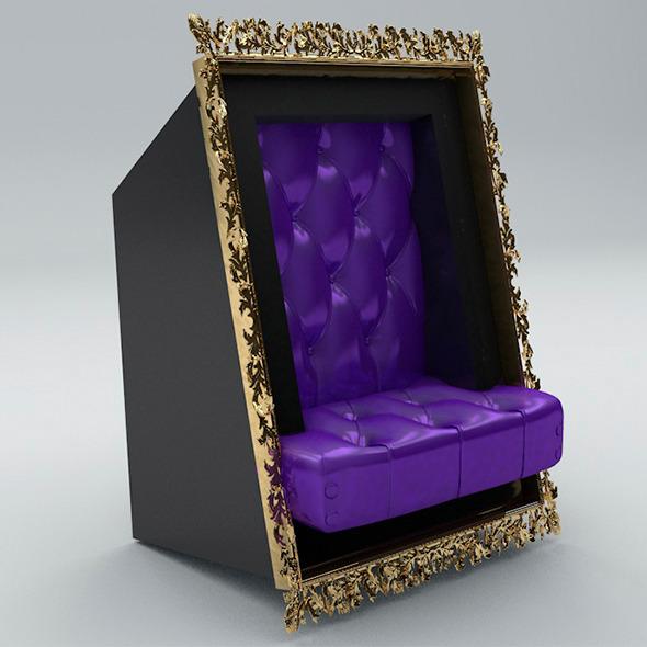 Modern Armchair - 3DOcean Item for Sale