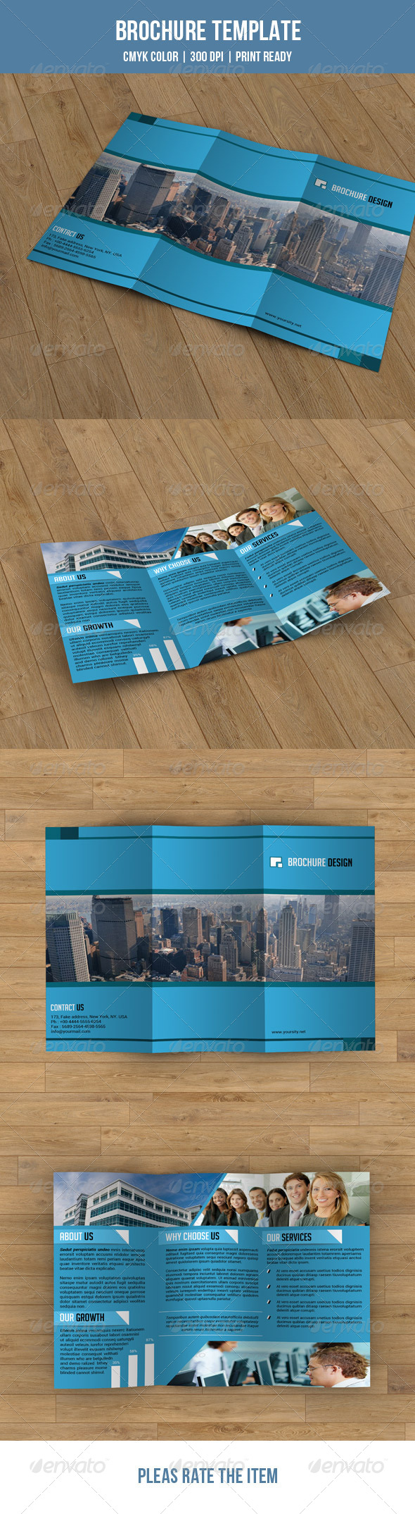 Trifold Business Brochure-V06 - Corporate Brochures