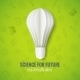 Realistic Paper Bulb in Origami Style  - GraphicRiver Item for Sale