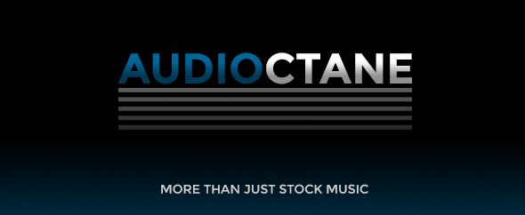 Audiooctane logo portfolio photoshop v7 black