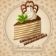 Shortcrust Cake Label - GraphicRiver Item for Sale