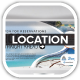 Drop Beach Resort Vacation Trip Location Board - GraphicRiver Item for Sale