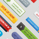 Call To Action Button Set - GraphicRiver Item for Sale