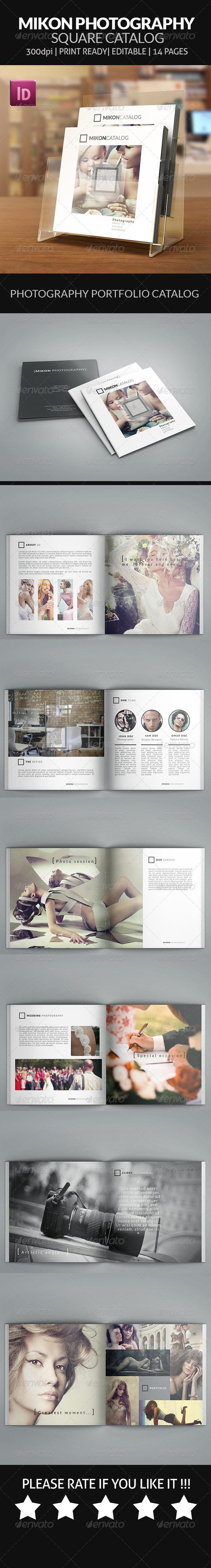 Mikon - Photography Portfolio Square Catalog