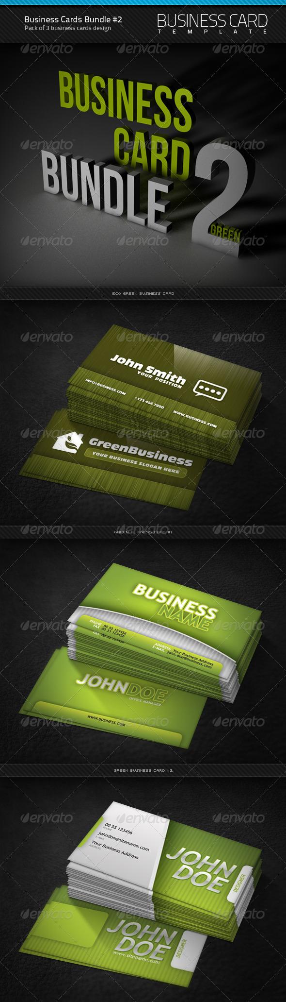 Business Cards Bundle #2 - Corporate Business Cards