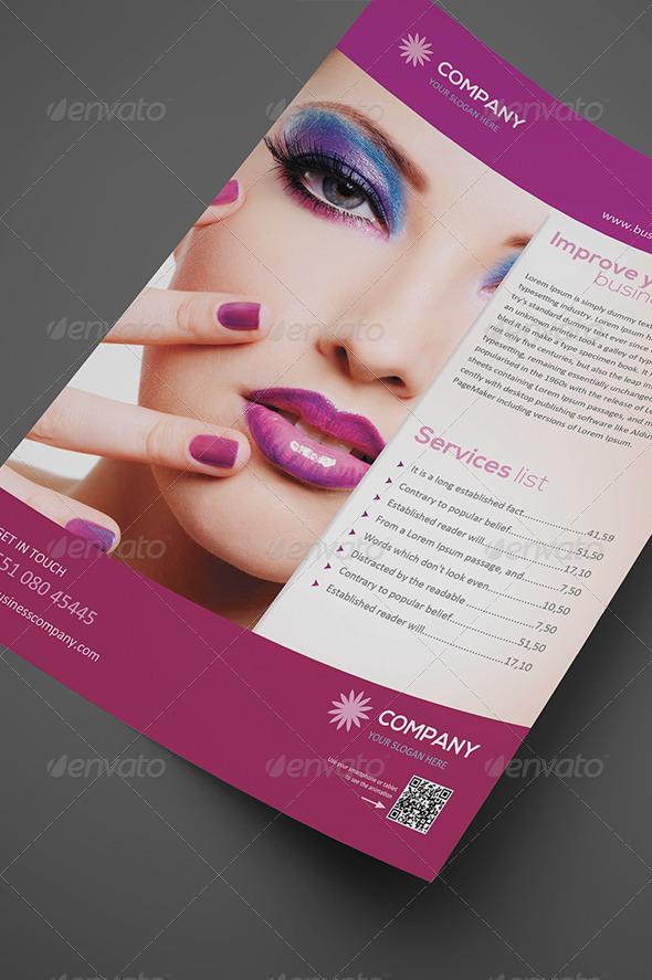 Beauty Flyer Vol. 01 - Corporate Flyers