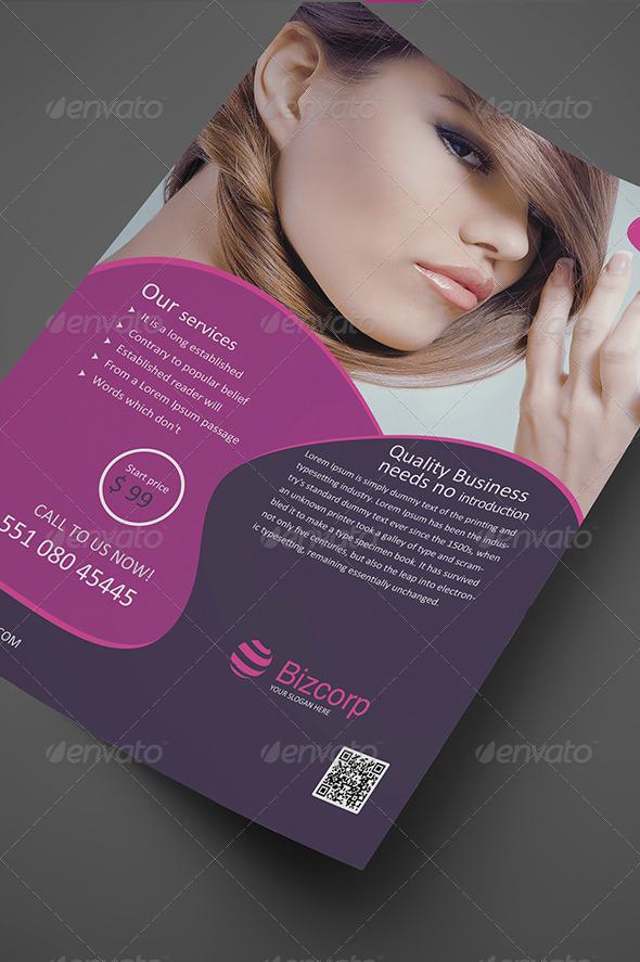 Beauty Flyer Vol. 02 - Corporate Flyers