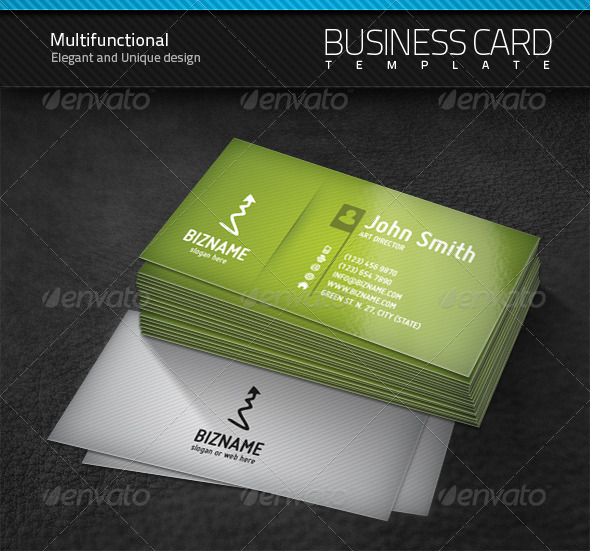 Multifunctional Business Card - Corporate Business Cards