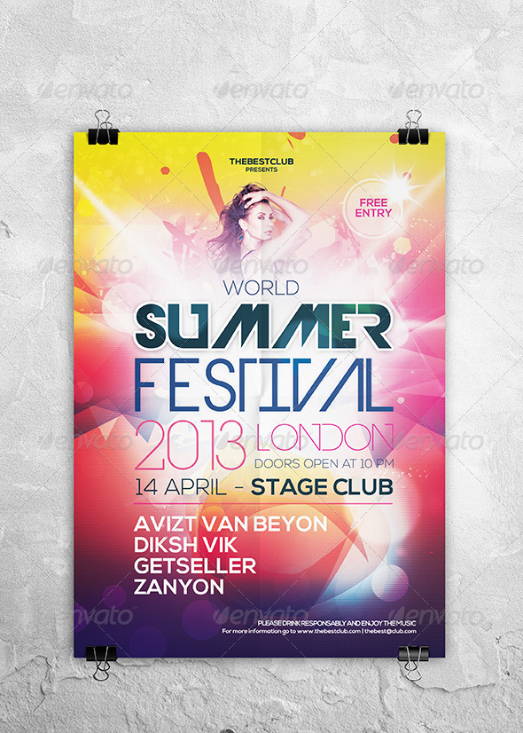World Summer Festival - Clubs & Parties Events