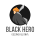 Black Hero - GraphicRiver Item for Sale
