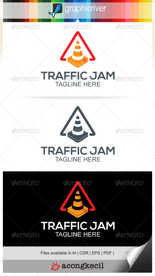 Traffic Jam - Objects Logo Templates