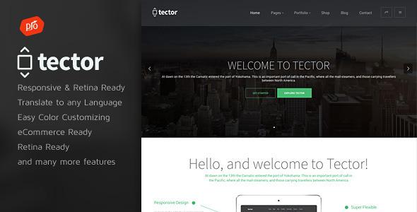 Tector - Muti-Purpose WordPress Theme