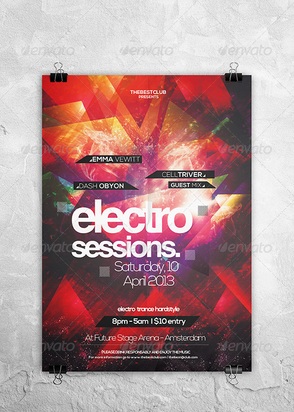 Electro Sessions Vol. 01 - Clubs & Parties Events