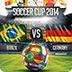Soccer Cup 2014 party Flyer - GraphicRiver Item for Sale