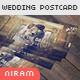 """Vintage Wedding """"Save the Date"""" Post Card Template - GraphicRiver Item for Sale"""