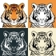 Tiger Head - GraphicRiver Item for Sale