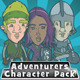 Adventurer Character Pack - GraphicRiver Item for Sale