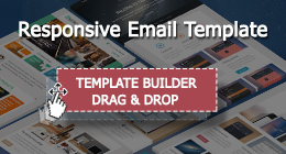 Responsive Email Template With Template Builder