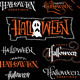 Halloween Hand Lettering Set - GraphicRiver Item for Sale