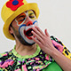 Funny Clown Face Expression 1 - VideoHive Item for Sale