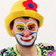 Funny Clown Walking Around  - VideoHive Item for Sale