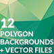 12 Polygon Abstract Backgrounds - GraphicRiver Item for Sale