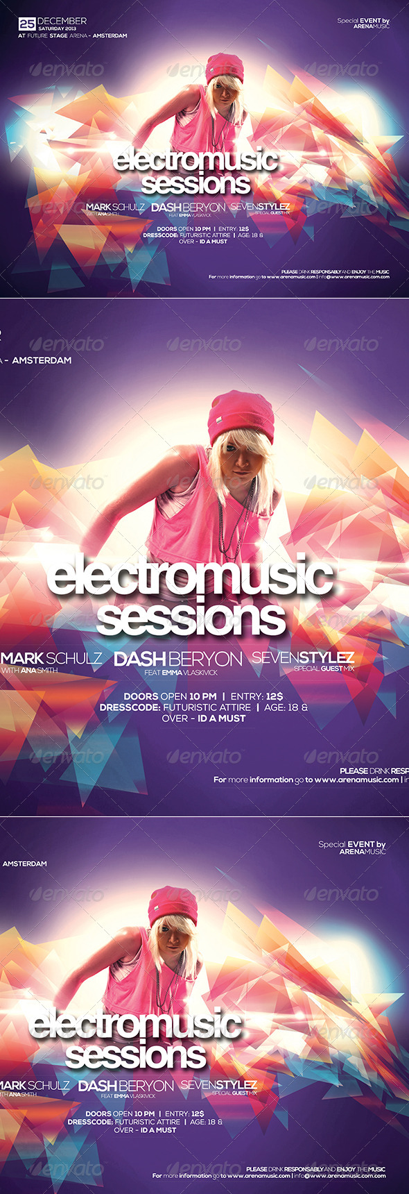 Electro Music Sessions Vol. 01 - Clubs & Parties Events