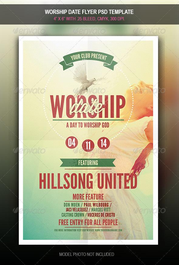 worship flyers - People.davidjoel.co