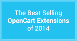 The Best Selling OpenCart Extensions of 2014
