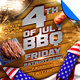July 4th BBQ Flyer Template - GraphicRiver Item for Sale