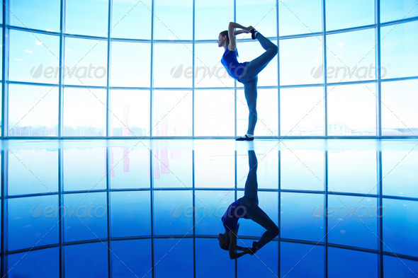 Stretching - Stock Photo - Images