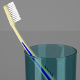 Toothbrush and Cup