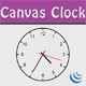 Fully customizzable Canvas Clock