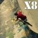 Flying Over Skate Park Pack 1 - VideoHive Item for Sale