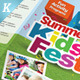 Kids Summer Camp Trifold Brochure - GraphicRiver Item for Sale