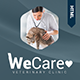 Wecare Veterinary Clinic - Parallax Landing Page - ThemeForest Item for Sale