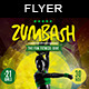 Zumbash | Fitness Flyer Template - GraphicRiver Item for Sale