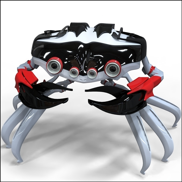 Robo-crab - 3DOcean Item for Sale