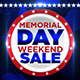 Memorial Day Weekend Sale Flyer - GraphicRiver Item for Sale
