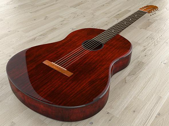 Acoustic Guitar - 3DOcean Item for Sale