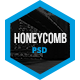 Honeycomb One Page PSD Template - ThemeForest Item for Sale