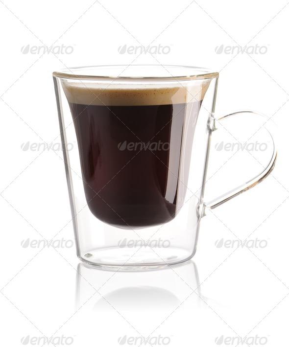 Espresso coffee - Stock Photo - Images