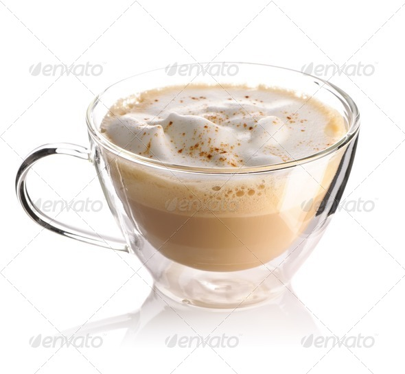 Cappuccino coffee - Stock Photo - Images