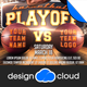 Basketball Game Day Flyer Template