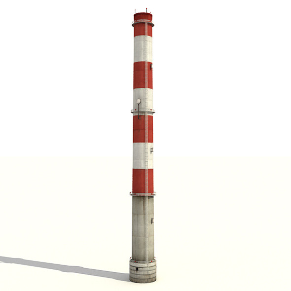 Big Tall Chimney - 3DOcean Item for Sale