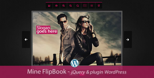 Mine Flipbook WordPress Plugin - CodeCanyon Item for Sale