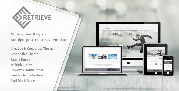 Retrieve | Responsive Multipurpose Joomla Template