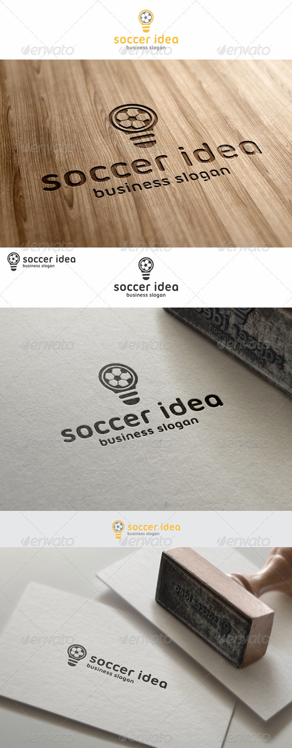 Soccer Idea Football Logo